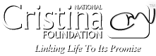 National Cristina Foundation Logo